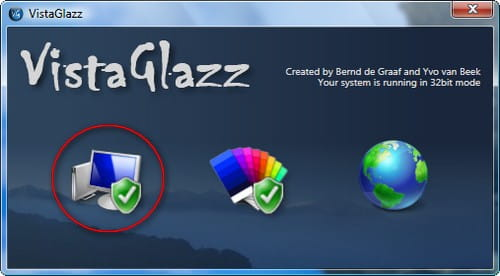 VistaGlazz su Windows Vista