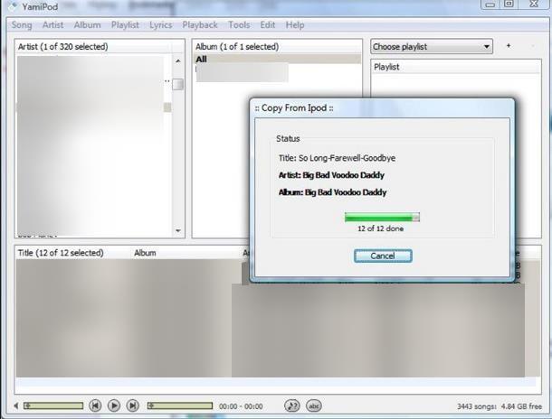 Come trasferire musica da iPod a PC senza iTunes