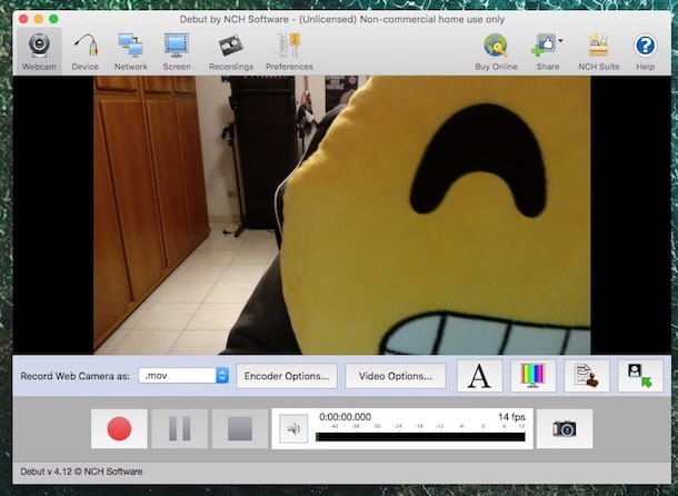 Registrare video con la iSight