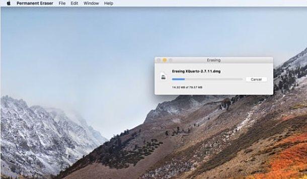 Come eliminare file completamente