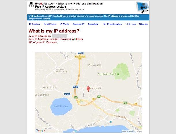 Come rintracciare un indirizzo IP