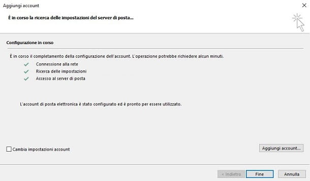 Collegare Hotmail a Outlook