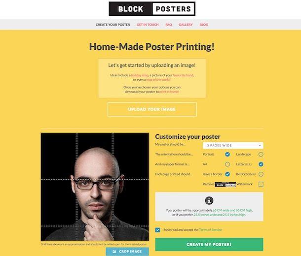 Come creare poster
