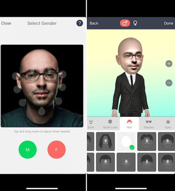 Come creare viso 3D