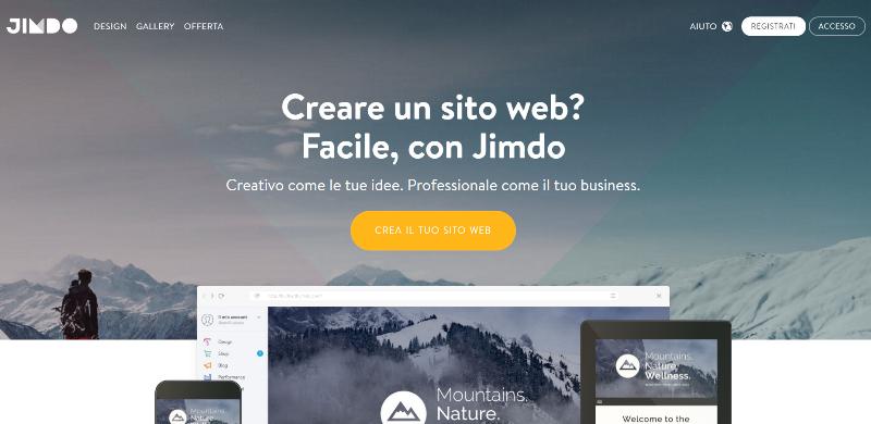 Come creare un sito web gratis salvatore aranzulla for Sito regali gratis