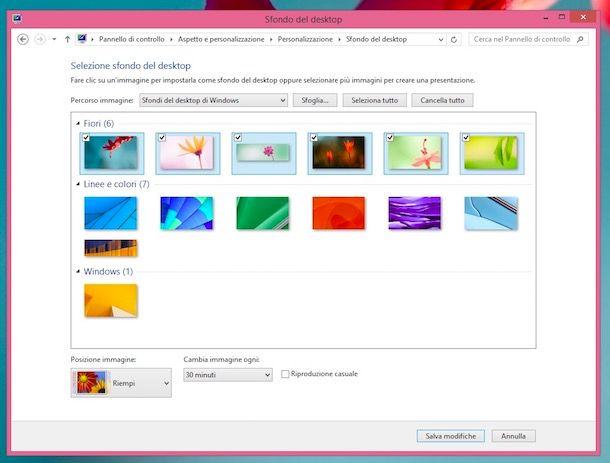 Come Cambiare Lo Sfondo Del Desktop In Automatico Salvatore Aranzulla