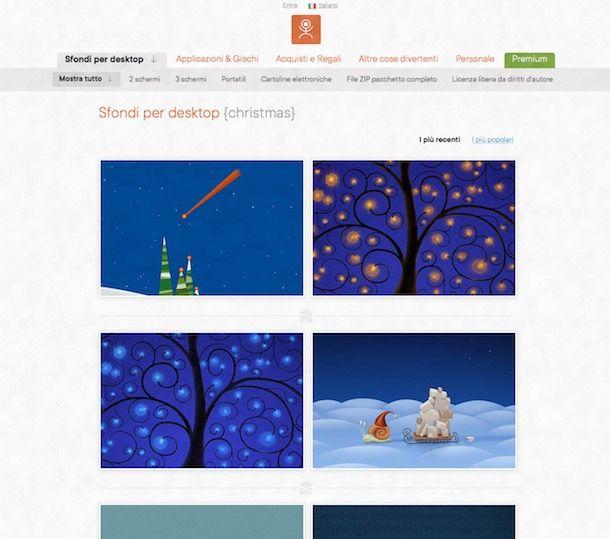 Sfondi Natalizi X Desktop.Addobbare Il Pc Per Natale Sfondi E Icone Salvatore Aranzulla