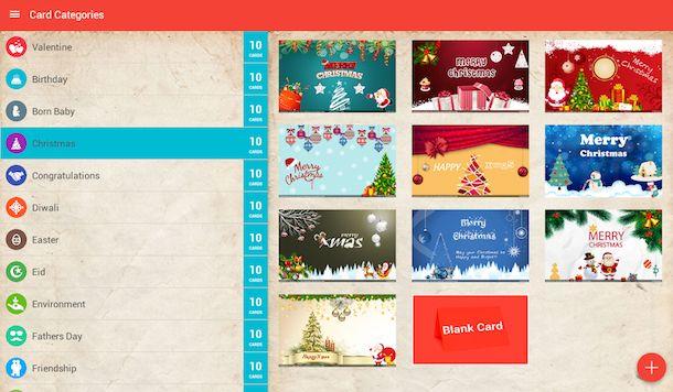 Come inviare cartoline Natale