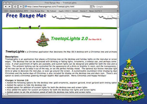 Addobbare il PC per Natale: neve e albero