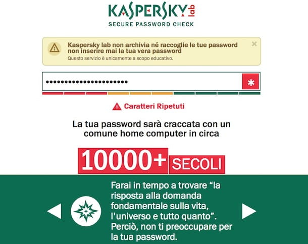 Come fare una password sicura