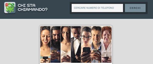 Chi sta chiamando?