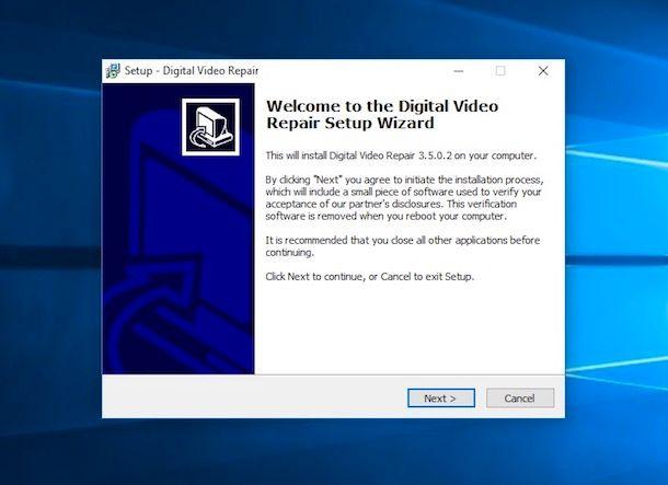 Come recuperare file video danneggiati