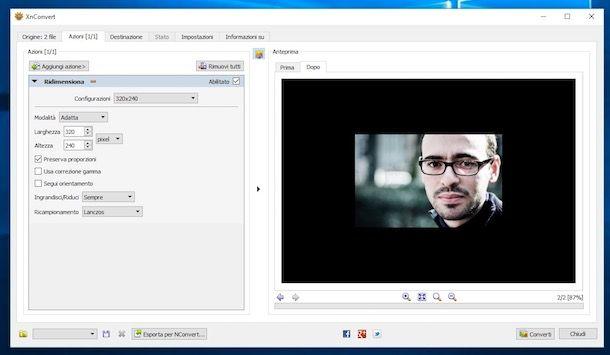Come ridimensionare le foto digitali