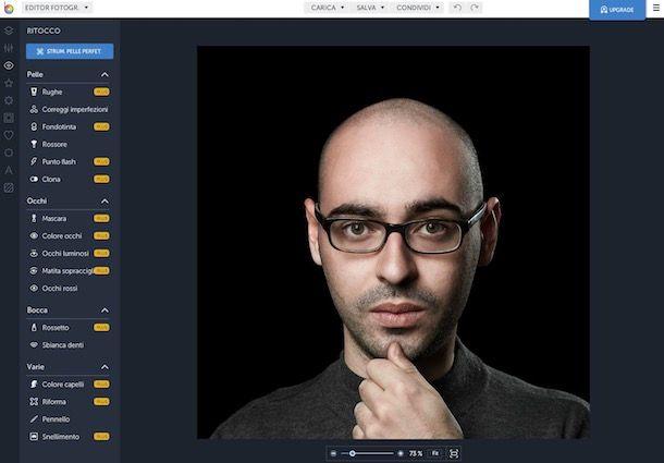 Come eliminare imperfezioni foto