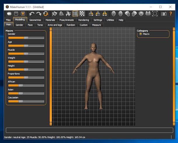 Come creare personaggi 3D