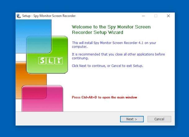 Programma spiare computer chat mail password microfono audio e webcam(screenshot) 257