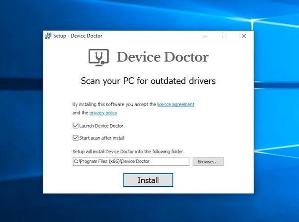 Come aggiornare driver PC