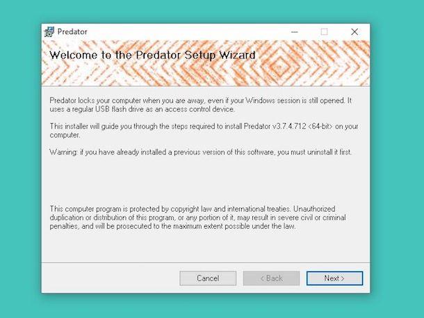 Come bloccare PC con una chiavetta USB