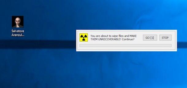 Come cancellare definitivamente un file