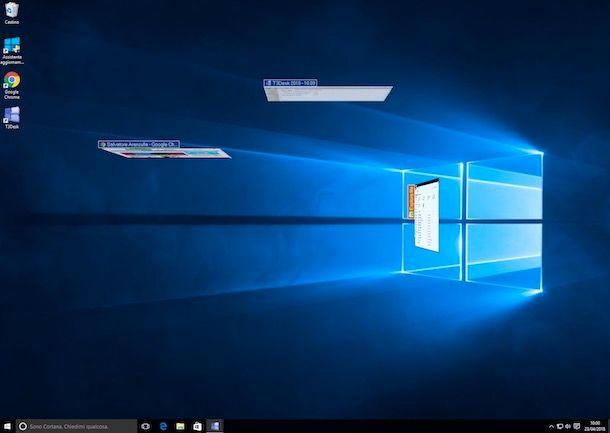 Come avere Desktop 3D