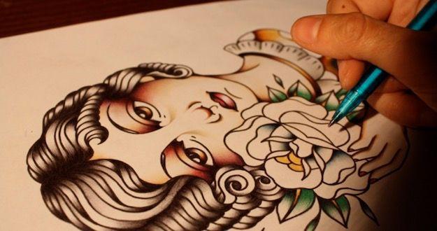 Come disegnare un tatuaggio online salvatore aranzulla for Come disegnare progetti online