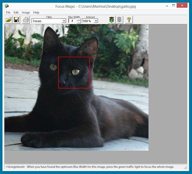 Come migliorare foto sfocate