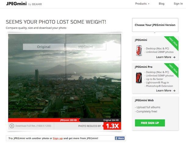 Come ridurre le dimensioni di una foto
