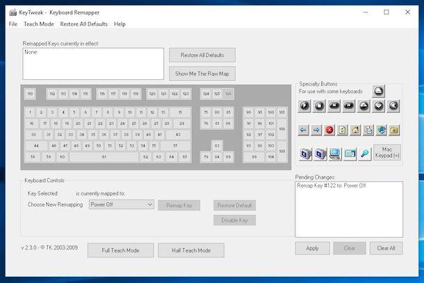 Come cambiare funzione dei tasti della tastiera