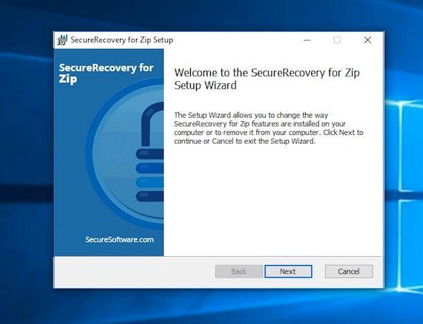 Come aprire archivio danneggiato