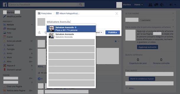 Come taggare su Facebook
