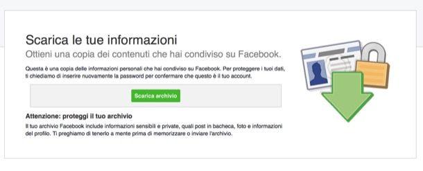 Come salvare le conversazioni di Facebook