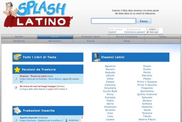 Splash Latino