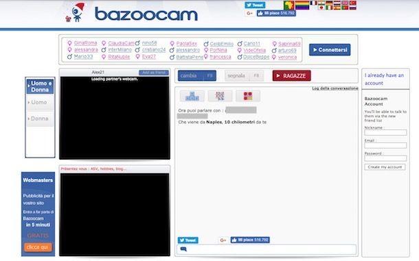 chat room senza registrazione i migliori siti gay