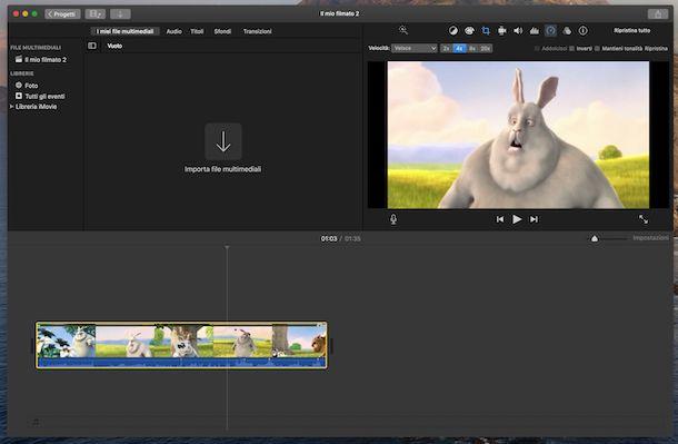 iMovie macOS