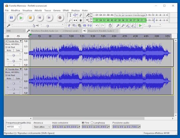 Come rimuovere voce da un brano musicale