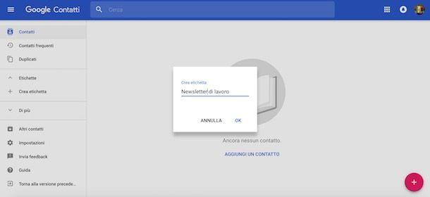 b3571cc844a3 Se non hai un sito Web e ti stai chiedendo come creare newsletter con  Gmail