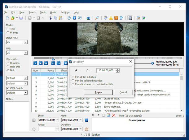 Subtitle Workshop