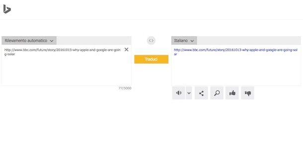 Come tradurre una pagina Web