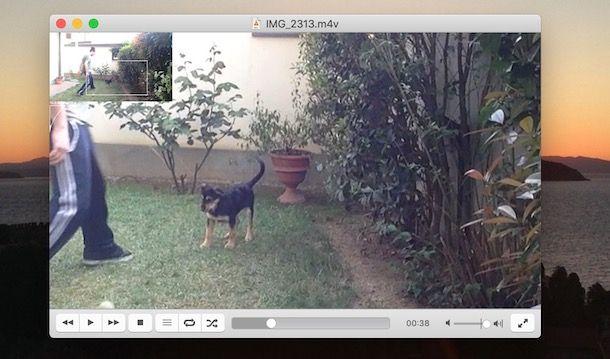 Zoomare video con VLC