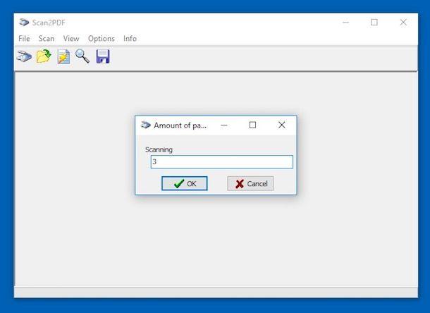 Come scannerizzare in PDF