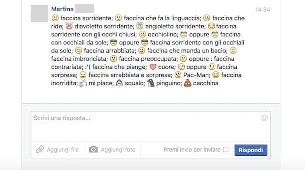 Come fare scritte strane su Facebook