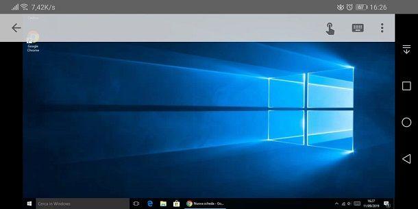 Comandare il PC con Chrome Remote Desktop da cellulare