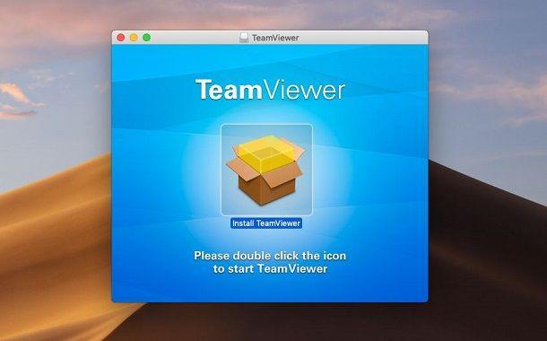 Installazione TeamViewer su macOS