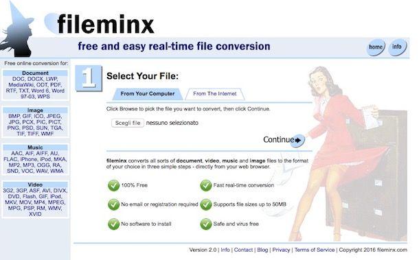 Come rinominare estensione file
