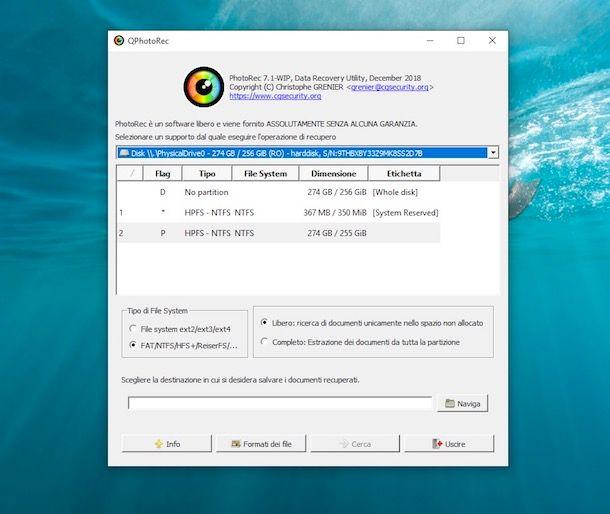 Come recuperare file cancellati dopo formattazione