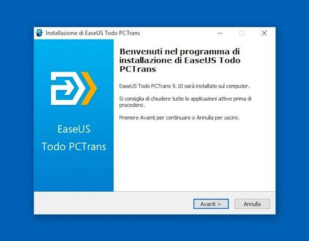 Come spostare un programma da un PC ad un altro