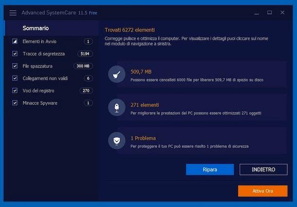 Come ripulire il PC dagli errori