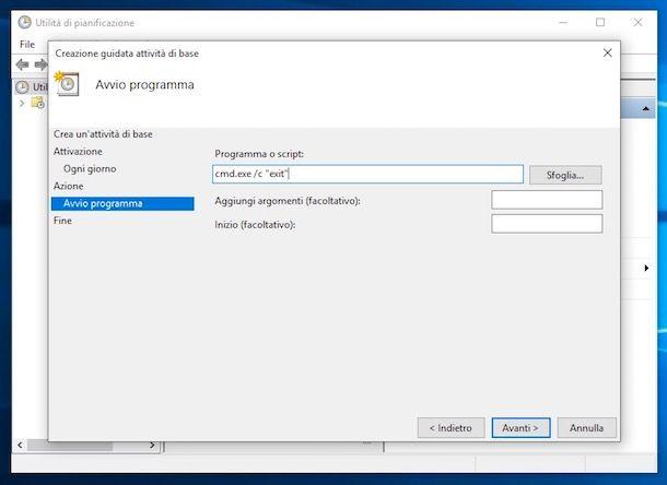Come accendere automaticamente il PC