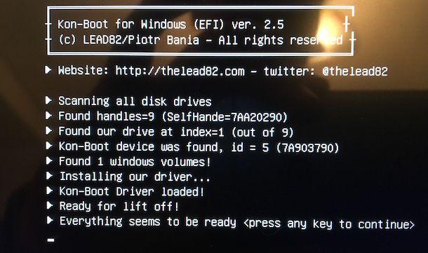 Come oltrepassare la password di Windows