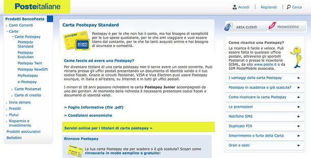 Postepay Online